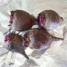 Have you ever tried Roasted beets.  They are so easy to fix, Have lots more flavor than boiled beets,  and peeling takes only seconds. Serve hot or make a salad with them.