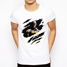 b3339eefad One punch man T-shirt 2018 Cool design Anime Men t shirt Saitama sensei t  shirt OK Printed Casual Tee - One stop Anime Shop