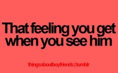 i love this feeling. <3