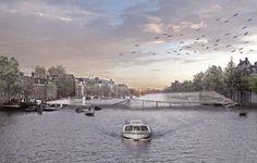 Gallery of Amsterdam Pedestrian Bridge Proposal / Francesco Piffari - 10