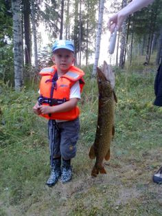 First big pike caught by my son