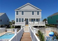 Driftwood 5BR/5.5BA  Oceanfront Vacation Home