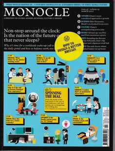 monocle magazine covers - Google Search