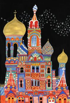 culture lessons for kids Russian Folk Art, Art And Illustration, Art Club, Elementary Art, Teaching Art, Architecture Art, Russian Architecture, Cultural Architecture, Art Education
