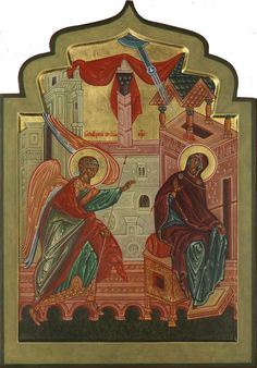 Theotokos - Contemporary icon from the Prosopon School of Iconology