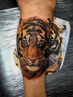 Tiger tattoo :)