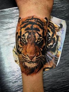 Tiger tattoo :)