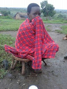 Massaï child