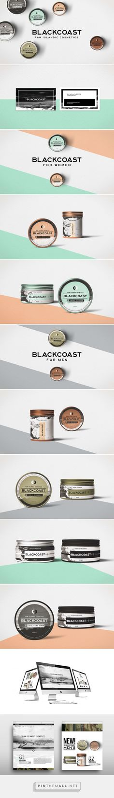 Blackcoast Raw Islandics Cosmetic Branding and Packaging by BADD Design | Fivestar Branding Agency – Design and Branding Agency & Curated Inspiration Gallery