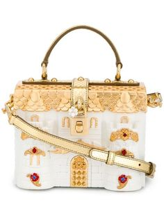 Shop Dolce & Gabbana 'Dolce' castle box tote. 6450 euro c'factor choice personal shopper follow me
