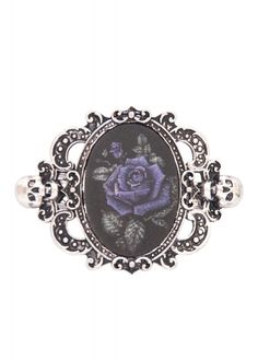 Deadly Rose Hologram Hair Clip | Attitude Clothing - NOW OWN