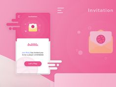 Hello Dribbble!  Here's my first shot!,  inspired by @Asep Syarifpudin  A great thank you to @Jeni Roxy for the Dribbble invitation!