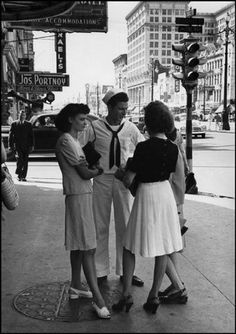 Vintage Photos New Orleans by Henri Cartier- Bresson 1947