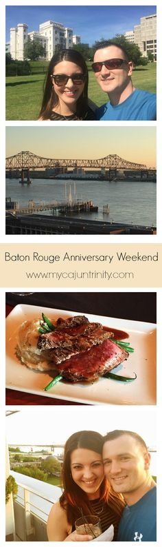 Click this post to see how we spent our one year anniversary in Baton Rouge, LA! We loved going back to the city where we met to enjoy our favorite restaurants and bars.