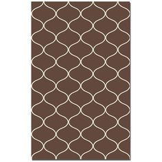 Uttermost Hamilton 5 x 8 Rug - Dark Chocolate 71033-5