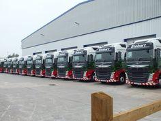 The Official Eddie Stobart Members Club Including Models Trucks from Corgi, Oxford and Tekno Volvo Trucks, Mack Trucks, Cool Trucks, Big Trucks, Eddie Stobart Trucks, Truck Paint, Air Planes, Vintage Trucks, Classic Trucks