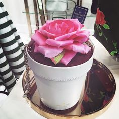 Flowers are in bloom on @katespadeny bags! #spring #YorkdaleStyle