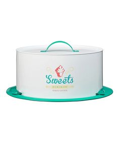 Love this 'Sweets' Cake Saver by Global Amici on #zulily! #zulilyfinds going down  memory  lane   $24.99