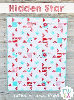 Hidden Star Quilt {Free Pattern}