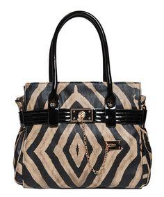 Another great find on #zulily! Beige Cami Safari Shoulder Bag by Elise Hope #zulilyfinds