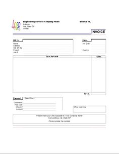 House Rental Invoice Template In Excel Format House Rental Invoice - Home rental invoice template