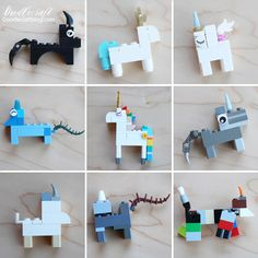 How to Build: Lego Unicorn ways! Lego Unicorns are the best! I found a severe lack of Unicorn Lego instructions and. Lego Duplo, Lego Ninjago, Lego Toys, Lego Design, Lego Poster, Lego Challenge, Lego Videos, Lego Club, Lego Craft