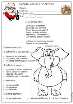 Atividade Projeto Vinícius de Moraes - 2º Ano