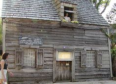 The Oldest Wooden Schoolhouse, St. Augustine, Florida: Saint Augustine's Historic Wooden School