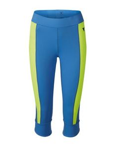 Colorblocked Cropped Athletic Pants