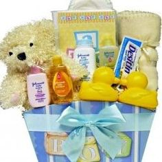 10 New Baby Gift Basket Ideas