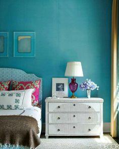 Turquoise  interiors/decor