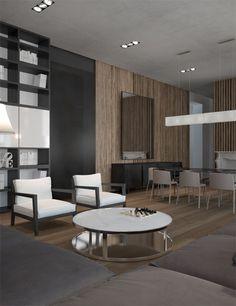 Фото — Podol Loft — Interior design