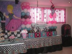 Milkshakes, records, cars, and a juke box... that sounds like someone I know. Is it wrong to have a 50's party for a 60th? |  Hostess with the Mostess® - Sock hop 50's Diner Party