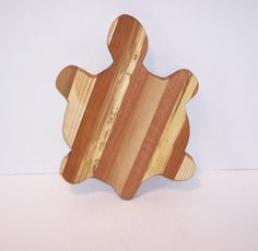 Turtle Cutting Board / Cheese Board Handcrafted from Mixed