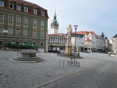 Old center town square aquare Brno, Czech.
