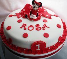 Minnie Cake- Torta Minnie <3