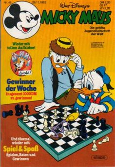 A cover gallery for the comic book Micky Maus Donald Sterling, Scrooge Mcduck, I Remember When, Vintage Disney, Disney Magic, Donald Duck, Comic Book, Hong Kong, Cover