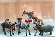 Festive animals :)
