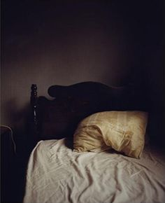 Todd Hido photo of bed