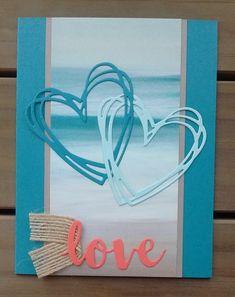 Sunshine Sayings, Artwork, Sunshine Wish Die Cut, Serene Scenery DSP, Vale … – Happy Valentine's Day Cards