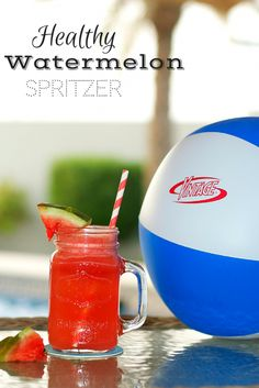 Try this refreshing Healthy Watermelon Spritzer that has no added calories or FDC & Color!