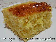 Bolo de Milho de Latinha - delicinhasecoisinhas.blogspot.com