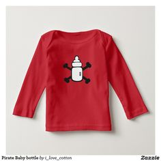 Pirate Baby bottle T-shirt