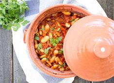 Greek baked beans is a simple dish that gets its unique flavour from ripe tomatoes seasoned with cinnamon. It's tasty, healthy and effortlessly vegan.