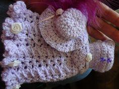 Crochet Barbie Hat Free Pattern