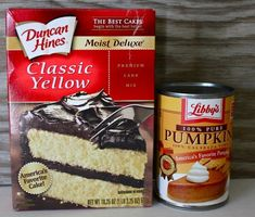 2 or 3 PPs depending on your ingredients. Pumpkin Muffins - only 2 ingredients. That's right, just the cake mix and the pumpkin. No oil, no eggs, no water, nothing else. Bake at 350, this is a Weight Watchers treat, very low cal..    Made mine with red velvet mix - less than 2 points for the mini cupcakes - PLUS they EXPAND into HUGE bits.  :)  Very pleased with the turnout.  - Jodie by karyn