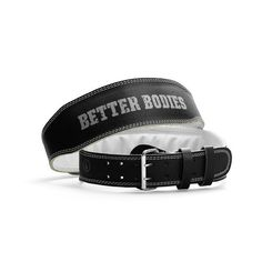 Better Bodies WEIGHT LIFTING BELT Art.nr: 130306-999. Weightlifting belt for really good support! Regular size with a 2,5 inch (10cm) back support. Unlike many other belts on the market, this belt is