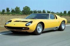 The Lamborghini Miura is a sports car produced by Italian automaker Lamborghini . Lamborghini Miura, Classic Car Sales, Classic Cars, Car Racer, Best Muscle Cars, Jaguar Xk, Sport Cars, Luxury Cars, Vintage Cars