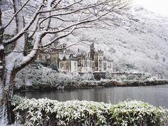 Stunning views in Kylemore Abbey. Winter is almost here! via wonderfulireland.ie