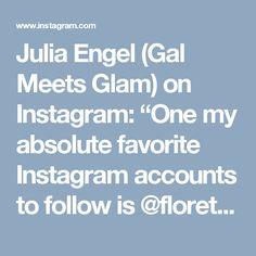 "Julia Engel (Gal Meets Glam) on Instagram: ""One my absolute favorite Instagram accounts to follow is @floretflower Talk about serious flower dreams!!!! Each photo makes my heart flutter 💕💐 #instafav #floretflower #rainbowofflowers"""